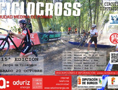 Clasificaciones Ciclocross Medina 2018 y Circuito Diputación